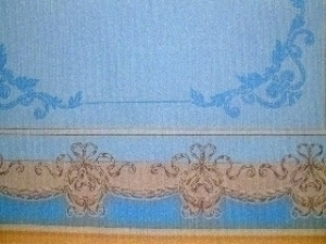 Pictorial restoration of a ceiling
